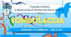 Banner LA TOMBOLACCIA DI CARNEVALE 2020 della Misericordia - Settimo San Pietro - 23 Febbraio 2020 - ParteollaClick