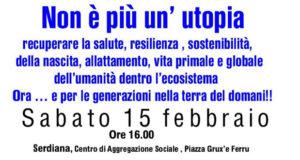 Banner Non è più un'utopia, incontro sull'allattamento e sull'amore materno - Centro di Aggregazione Sociale Serdiana - 15 Febbraio 2020 - ParteollaClick