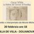 Banner Spettacolo teatrale tratto dal testo La Ballata del Carcere di Reading di Oscar Wilde - Dolianova - 20 Febbraio 2020 - ParteollaClick