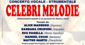Banner Concerto vocale-strumentale CELEBRI MELODIE - Donori - 31 Luglio 2020 - ParteollaClick