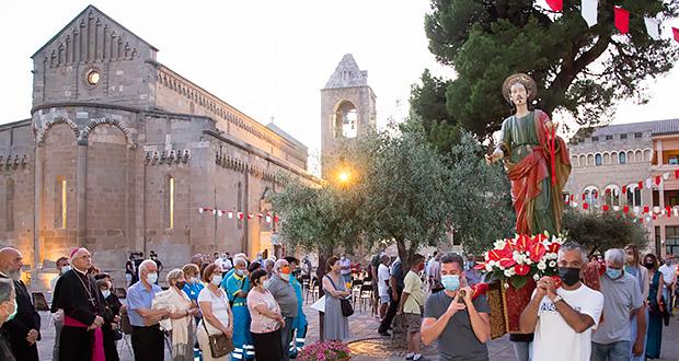 Foto ai Festeggiamenti Patronali di San Pantaleo - Dolianova - 27 Luglio 2020 - ParteollaClick