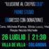 Banner ILLUSIONE AL CREPUSCOLO primo studio, teatro sociale e di di comunità a Villa de Villa - Dolianova - 26 Luglio 2020 - ParteollaClick