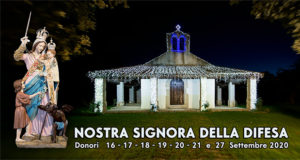 Banner Festa di Nostra Signora della Difesa 2020 - Donori - 16, 17, 18, 19, 20, 21 e 27 Settembre 2020 - ParteollaClick