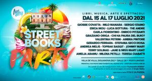 Banner Festival letterario Street Books, libri, musica, arte e spettacoli - Dolianova - Dal 15 al 17 Luglio 2021 - ParteollaClick