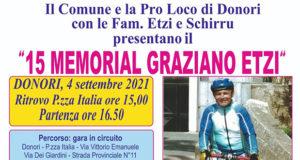 Banner 15° Memorial Graziano Etzi - Donori - 4 Settembre 2021 - ParteollaClick