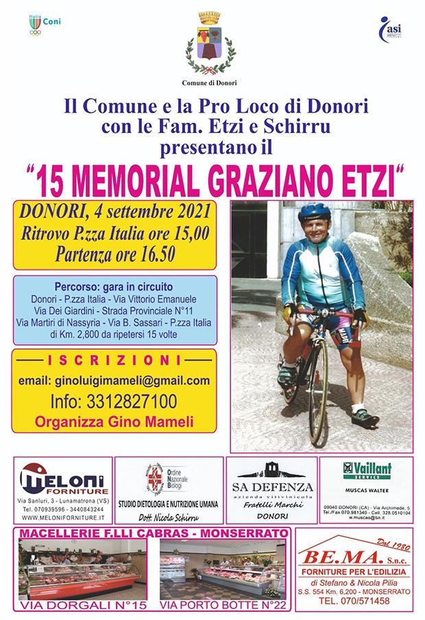 15° Memorial Graziano Etzi - Donori - 4 Settembre 2021 - ParteollaClick