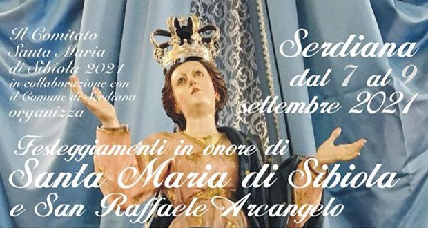 Banner Festeggiamenti in onore di Santa Maria di Sibiola e San Raffaele Arcangelo 2021 - Serdiana - Dal 7 al 9 Settembre 2021 - ParteollaClick