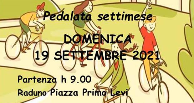 Banner LA PEDALATA SETTIMESE - Pedalata per la Settimana Europea della Mobilità 2021 - Settimo San Pietro - 19 Settembre 2021 - ParteollaClick